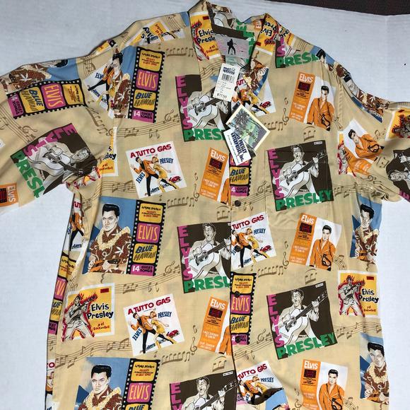7aa09c27 Reyn Spooner Shirts | Nwt Reyn Spoone Elvis Presley Collectible ...